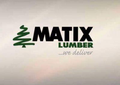 Matix Lumber Video Wall