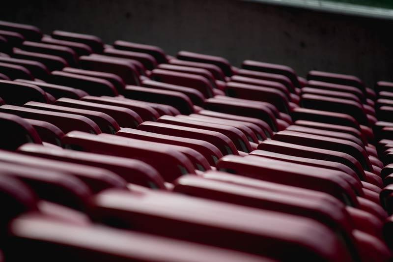 Image of empty seats.