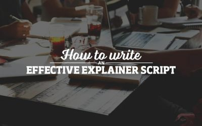 How to write an effective explainer video script