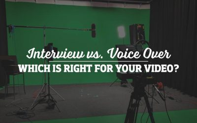 Interview or Voice Over: Which is right for your video?